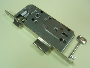 Брава BONAITI  обикновен ключ 90/50мм.никел