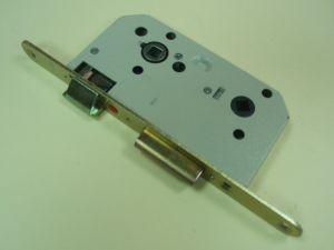 Брава MAUER сервизна 70/50 мм.бял цинк + жълт лак.