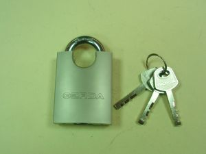 Катинар GERDA KSWC50 ,със защитена скоба,с 3 ключа,неавтоматичен,противозломен.