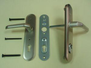 Дръжка  GERDA TD 200 секретна 90мм.със защита,цвят- сатиниран никел .ПО ЗАЯВКА.
