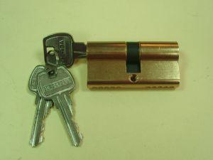 Секретен патрон GЕRDA.Месинг или никел.С палец по ДИН.С 3 ключа.Различни размери.