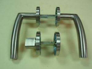 Дръжка DORMA 721 розетка сервиз ф 55мм.инокс,тръбна.