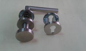 Дръжка + Топка  DORMA 8906 секр. розетка ф 55мм.инокс,тръбна.