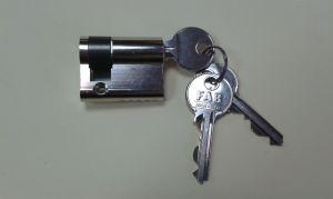 """Секретен патрон """"FAB"""" едностранен.Никел.С 3 ключа.С палец по ДИН.Различни размери"""
