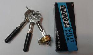 Секретен патрон FAYN кръстат ключ.