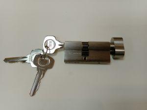 Секретен патрон YALE 30/35 Р.Никел.С 3 ключа.Палец по DIN.