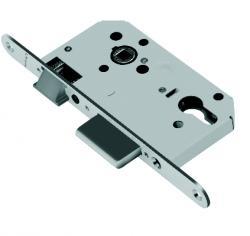 Брава MAUER секретна основна 70/50 мм.С никелирана челна планка.По БДС или по ДИН..