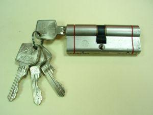 Секретен патрон MLS R.L.Никел.С 4  ключа.С палец по БДС .Различини размери.