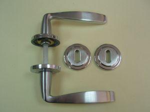 Дръжка FORTUNA розетка за обикновен ключ ф 50мм.хром+сат.хром.