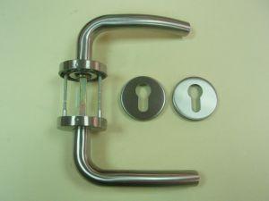 Дръжка LINCE MRS3 секретна розетка ф 55мм.инокс,тръбна.