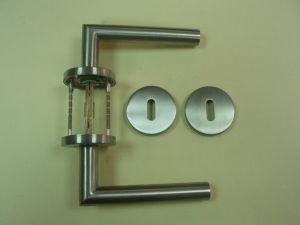 Дръжка DORMA 8906/703 розетка за обикновен ключ ф 55мм.инокс,тръбна.