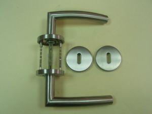 Дръжка DORMA 721 розетка за обикновен ключ ф 55мм.инокс,тръбна.