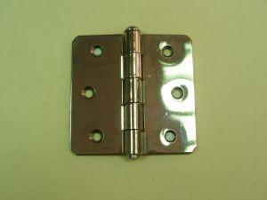 Панта CEUR 804/BT никел за безфалцова врата.75х75х2мм.Разпродажба.